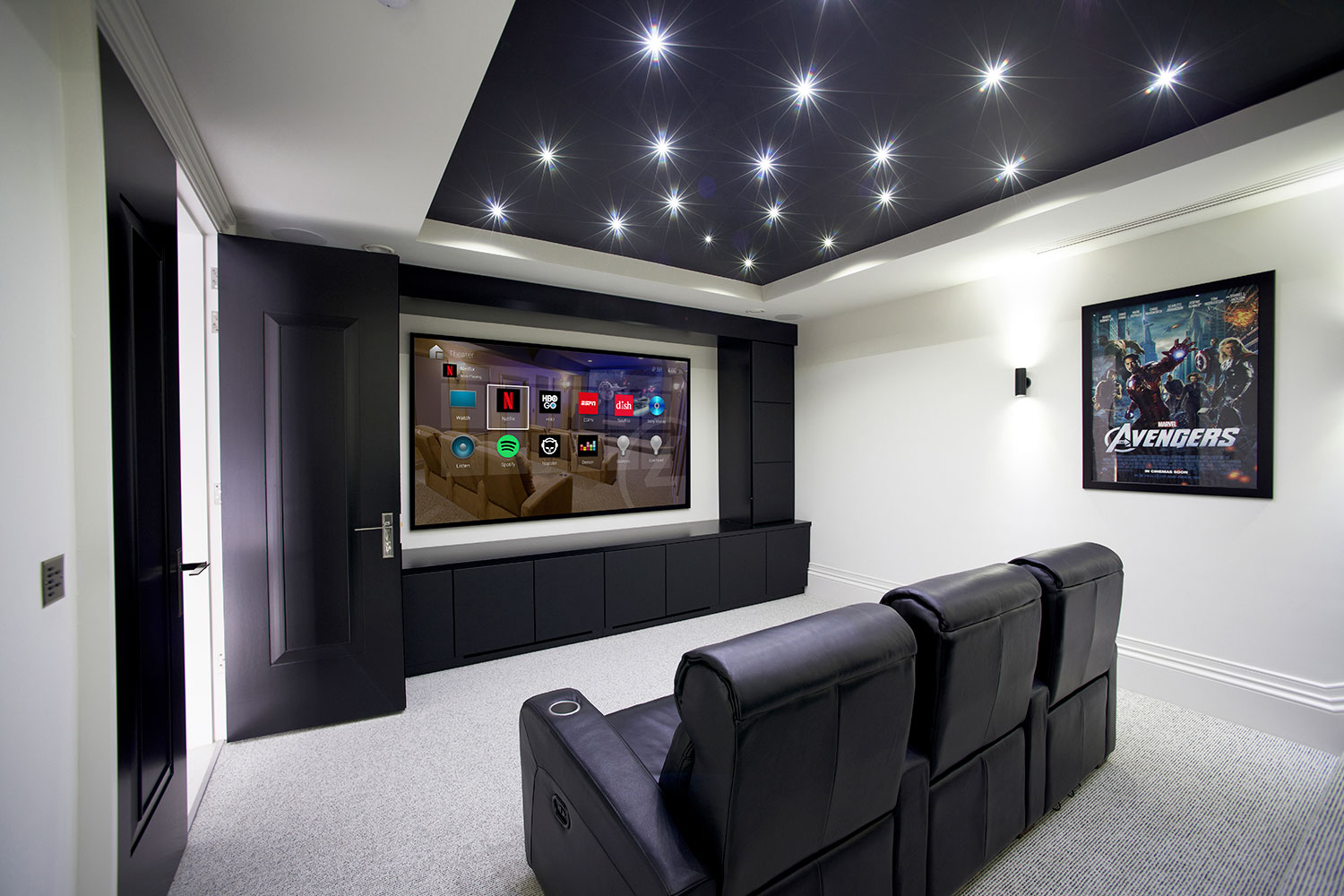 Home Cinema Design Control4 authorised installer