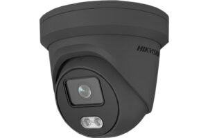 HIKVISION 4MP IP ColorVu Turret Camera - Grey
