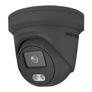 HIKVISION 4MP IP ColorVu Turret Camera - Grey