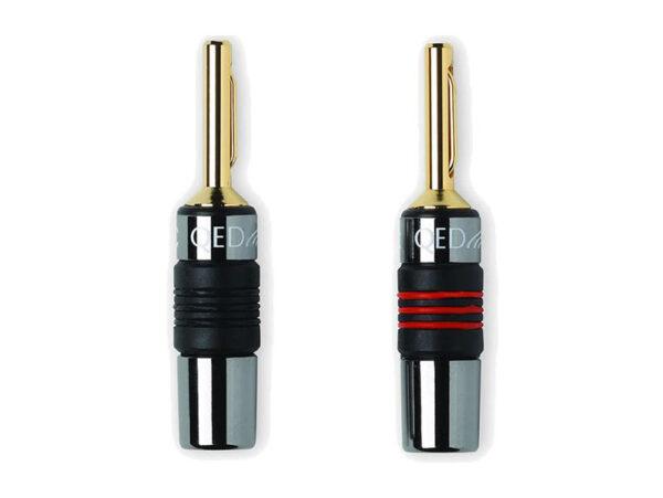 QED AIRLOC METAL 4mm Plug