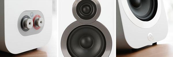 Q Acoustics 3010i Compact Bookshelf Speakers