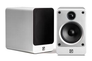 Q Acoustics Concept 20 Bookshelf Speakers - Gloss White