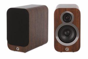 Q Acoustics 3010i Compact Bookshelf Speakers – English Walnut