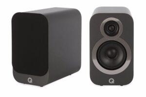 Q Acoustics 3010i Compact Bookshelf Speakers – Graphite Grey